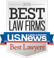 2013 Best Law Firms - US NEWS